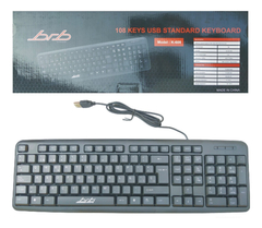 Teclado K-608 Cable Usb 105 Teclas Pc Notebook - comprar online
