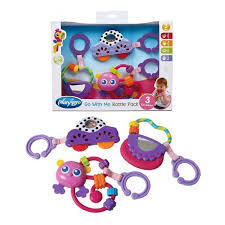 sonajeros en pack playgro go with me rattle pack pick - comprar online