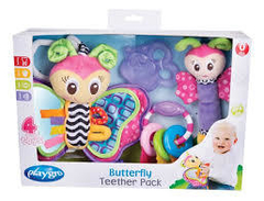 sonajeros en pack playgro butterfly fun pack - comprar online