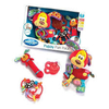 sonajeros en pack playgro puppy teether pack