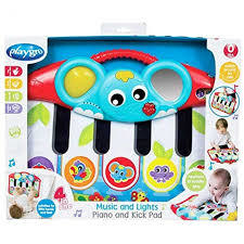 piano primera infancia playgro music and light piano and kick pad - comprar online