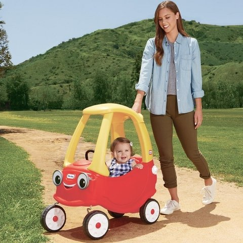 CARRO COUPE COZY - LITTLE TIKES na internet
