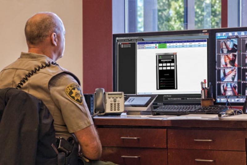 Visualizando pelo computador a movimentação no detector MZ 6100 Garrett