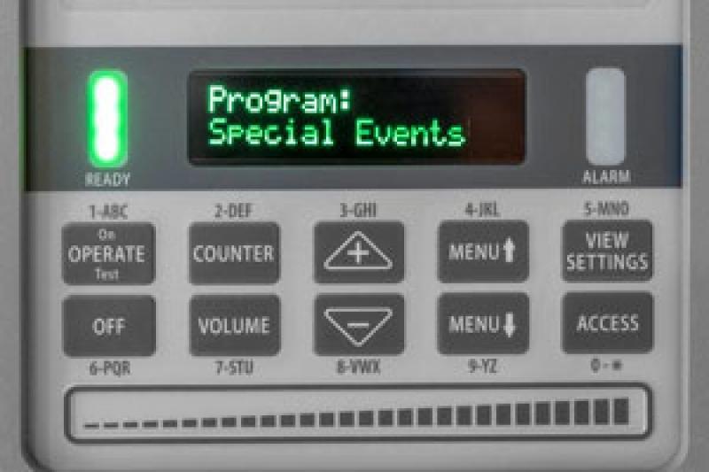 Caixa de controle do detector MZ 6100 Garrett