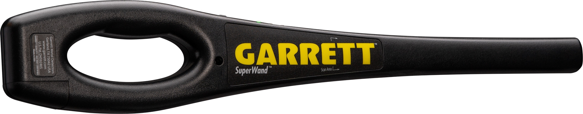 detector de metal superwand garrett