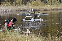 Fazendo uma pesquisa no rio com o detector DEEPMAX Z1