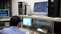 Teste de laboratório com o detector deepmax z1