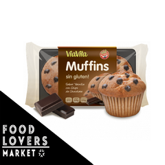 Muffins SIN TACC - Vainilla con chips chocolate - 130 g