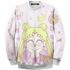 Buzo Sweet Sailor Moon Pink