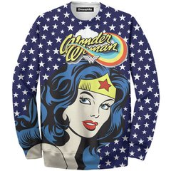 Buzo Wonder Woman blue