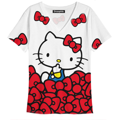 Remera Kitty Listón