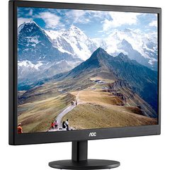 MONITOR AOC LED 18.5 HD E970SWNL HD/VGA PRETO