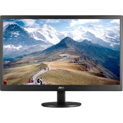 MONITOR AOC LED 18.5 HD E970SWNL HD/VGA PRETO na internet