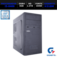 Microcomputador NTC PC I5 8119 GA8G (i5-8400/8GB/HD1.0TB/DVD/300W/DDR4)
