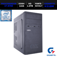 Microcomputador NTC PC I7 9117 PRICE GA8G (i7-8700/16GB/HD1.0TB/DDR4)