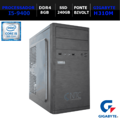 Microcomputador NTC PC I5 8130 SSD PRICE GA9G (i5-9400/8GB/SSD240GB/DDR4)