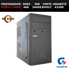 Microcomputador NTC PC AMD RYZEN 3 - 5111 GA (RZ3-3200G/4GB/SSD240GB/DDR4)