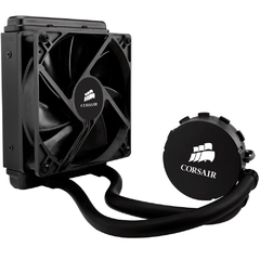 WaterCooler Gabinete Corsair H55 Hydro Series Quiet Edition 1 Fan 120mm CW-9060010-WW