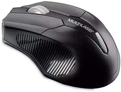 Mouse Multilaser Wireless 2.4Ggz 1600DPI Preto MO221
