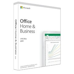 Licença Office Home & Business FPP 2019 - Word/Excel/PowerPoint/Outlook - T5D-03241