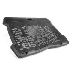 "Base Notebook C3Tech  NBC-01BK 15,6"" C3Plus Preto USB 2.0 Fan 140mm"