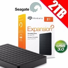 "HD Externo 2TB Seagate Expansion 2.5"" USB 3.0"