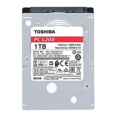 HD Notebook 1TB Toshiba L200 1TB SATA3 5400RPM 128MB 2,5""