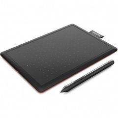 Mesa Digitalizadora Wacom One By CTL472 (Resol 2540 lpi / Press da Caneta 2048 / LP190K / 3 Pontas de Reposicao) - Peque