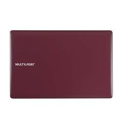 "Notebook Multilaser Legacy Cloud INTEL Z8530 2GB RAM / 32GB Windows 10 Home Tela 14"" HD Vermelho PC133 na internet"