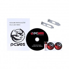 Placa de Vídeo NVIDIA PcYes GeForce G 210 1GB DDR3 64 Bits (Com kit LP, VGA, DVI, HDMI) - loja online