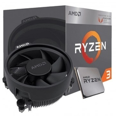 Processador AMD Ryzen 3 3200G Box (AM4 / 4 Cores / 8 Threads / 3.6GHz / 6MB Cache / Vega 8 / Cooler Wraith Stealth)