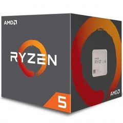 Processador AMD Ryzen 5 2600 Box (AM4 / 6 Cores / 12 Threads / 3.9GHz / 19MB Cache / Cooler Wraith Stealth) - *S/ Video