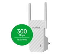 Repetidor Wireless Intelbras 300mbps IWE 3001