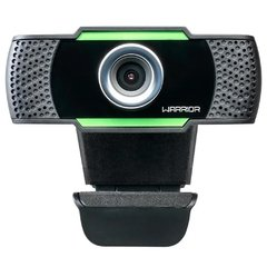 WebCam Gamer Multilaser Warrior Maeve 1080P Preta/Verde AC340 - comprar online