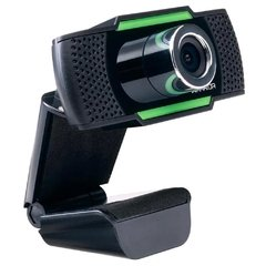 WebCam Gamer Multilaser Warrior Maeve 1080P Preta/Verde AC340 na internet