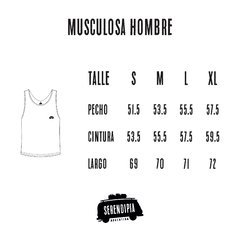 MUSCULOSA BLACK en internet