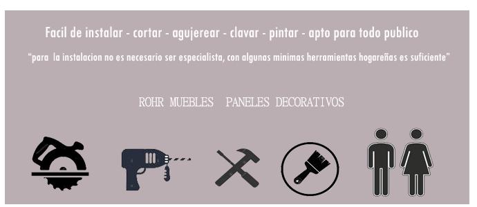 rohr muebles paneles decorativos separadores de ambientes
