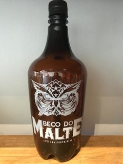 Growler pet âmbar logo Beco - 1L