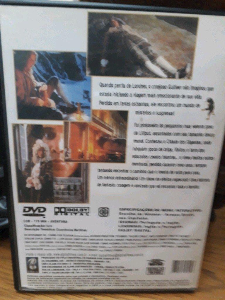 DVD AS VIAGENS DE GULLIVER - SUPERCLASSICO COM TED DANSON