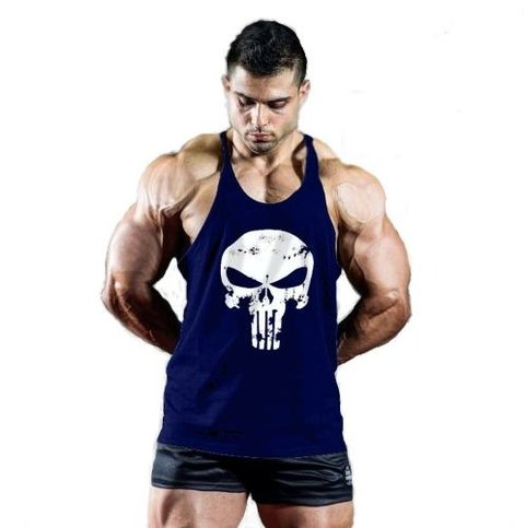 Musculosa Gym Punisher  Cuotas Sin Interes Envíos - A4 Clothing