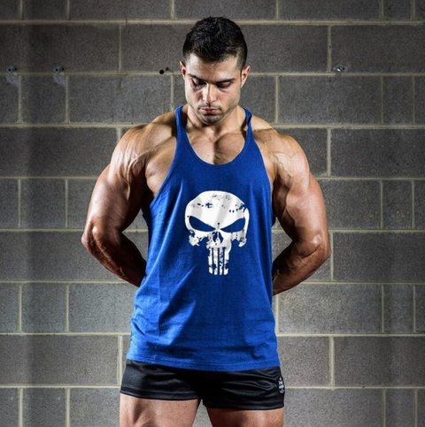 MUSCULOSA GYM PUNISHER - comprar online