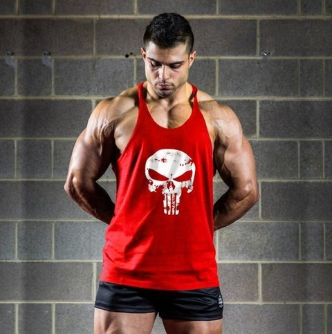 MUSCULOSA GYM PUNISHER en internet