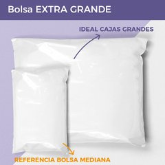 BOLSA E-COMMERCE EXTRA GRANDE x50 (65X51+4) - RECICLABLE - Paketin