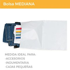 BOLSA E-COMMERCE MEDIANA x500 (28x44+5) - SUSTENTABLE - Paketin