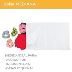 BOLSA E-COMMERCE PINK FLAMINGO x200 (28X44+5) - SUSTENTABLE - tienda online