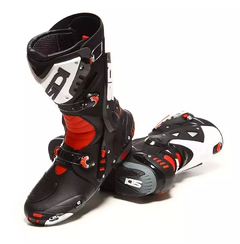 Botas Sidi Vortice Black, Red and White