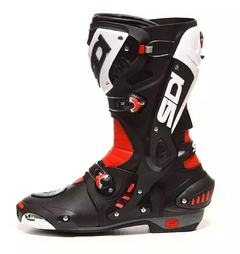 Botas Sidi Vortice Black, Red and White - Proskin