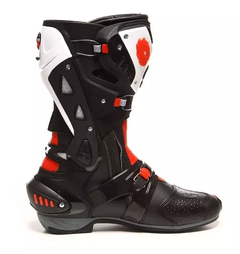 Botas Sidi Vortice Black, Red and White - tienda online