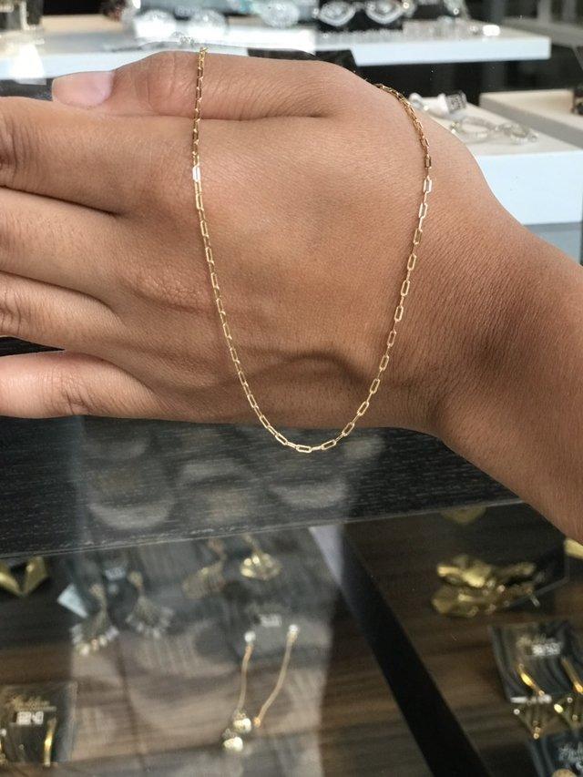 cadac80494e ... Cordão Cartier 40 Cm Folheado a Ouro 18k na internet