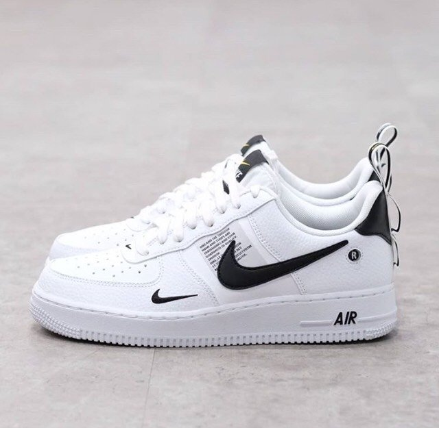 air force 1 mid utility white